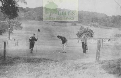 Players on the Ardsley Golf Club course.