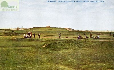 Bexhill-on-Sea Golf Club, Galley Hill. The former course.