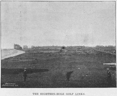 Bexhill-on-Sea Golf Club, Sussex. Article from The Sketch May 1896.