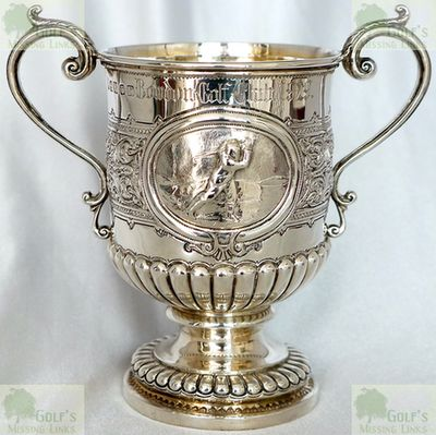 Bowdon Golf Club, Dunham Massey, Altrincham. Silver Trophy marked Bowdon Golf Club 1929.