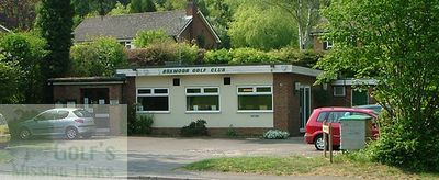 Boxmoor Golf Club, Hemel Hempstead, the clubhouse.