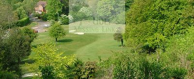 Boxmoor Golf Club, Hemel Hempstead. The Ninth hole.
