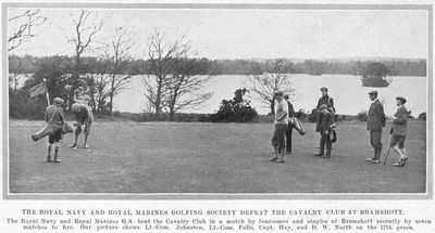 Bramshot Golf Club, Hampshire. Article from Bystander February 1924.