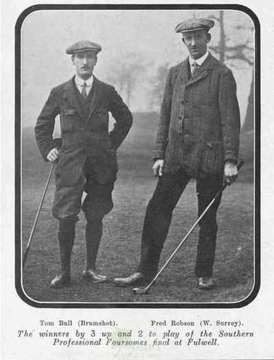 Bramshot Golf Club, Hampshire. Article from Illustrated Sporting Dramatic News March 1911.