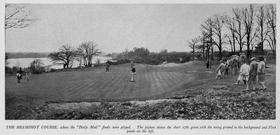 Bramshot Golf Club, Hampshire. Article from Illustrated Sporting Dramatic News April 1936.