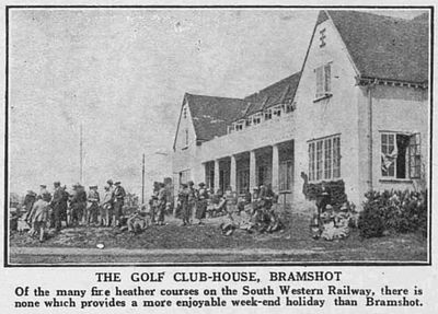 Bramshot Golf Club, Hampshire. Article from The Bystander July 1920.