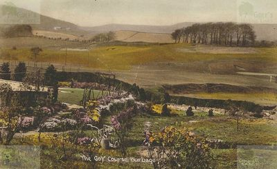 Burbage Golf Club, Buxton, Derbyshire. An undated picture of the golf course.