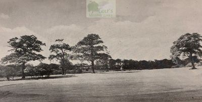 Calthorpe Golf Club, Great Barr, Birmingham. The third hole.