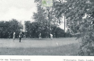 Chertsey Golf Club, Surrey. Images from the Chertsey Golf Club Handbook.
