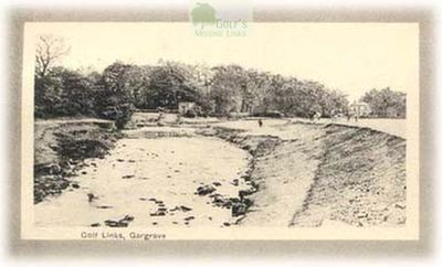 Craven Golf Club, Skipton, Yorkshire. Picture showing the early Gargrave golf course.