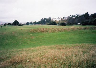 Exmouth Golf Club, Devon. Features of the former golf course.