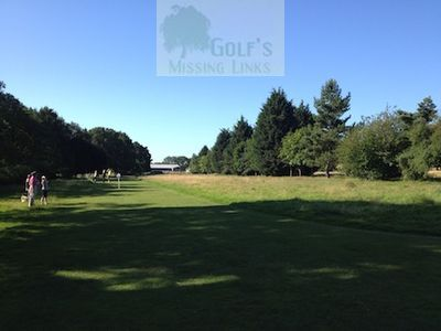 Fleming Park Golf Club, Hants. The former course.
