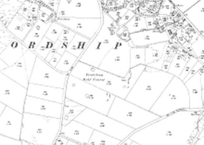Frodsham Golf Club. Course on 1910 O.S map.