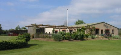 Frome Golf Club, Somerset. Frome Golf Club the clubhouse.