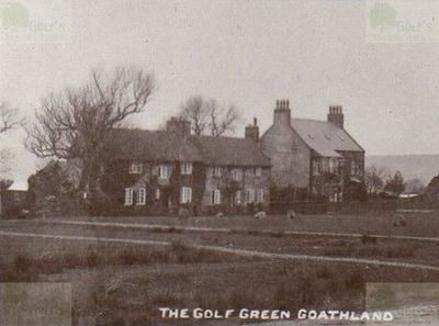 Goathland Golf Club, North Yorkshire. View of the course in the early 1920s.