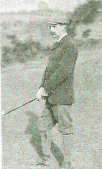 Hastings and St Leonards Golf Club. Dr B G Frith captain/secretary 1893.