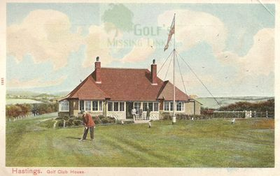 Hastings and St Leonards Golf Club. The Clubhouse.