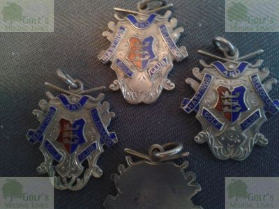 Hastings and St Leonards Golf Club. Medals hallmark 1907.