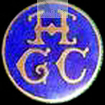 Hurdsfield Golf Club, Macclesfield, Cheshire. Club button.