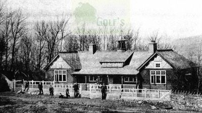 Ilkley Moor Golf Club. The Course and Clubhouse.