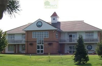 Immingham Golf Club, Lincolnshire. Immingham Golf Club Clubhouse.