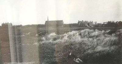 Lytham and St. Annes Golf Club, Mayfield Road Course. Image showing the site of the former course in the 1880s.