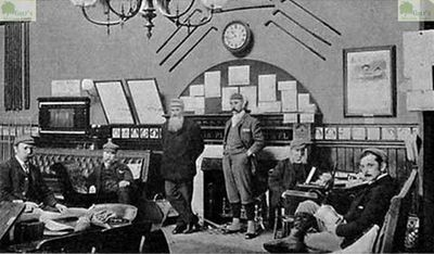 Lytham and St Annes Golf Club, Lancashire. Image showing the club room in the St Annes Hotel in 1893..