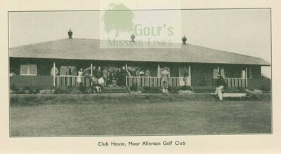 Moor Allerton Golf Club, Leeds. The former clubhouse.