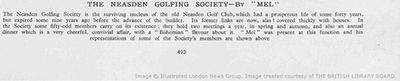 Neasden Golf Club, London. Golf Clubs And Golfers from The Tatler 1936.
