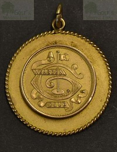 "Neasden Golf Club, London. The ""Annual Gold Medal"""