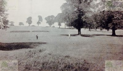 Neasden Golf Club, London. The tenth hole.