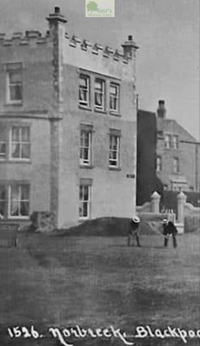 Norbreck Hydro Golf Club, Blackpool. Picture of early golf at Norbreck.