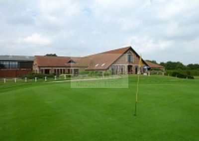 Norfolk Golf & Country Club, Reymerston, Norfolk. The Clubhouse.