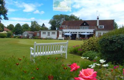 Potters Bar Golf Club, Darkes Lane. Pictures of the clubhouse and course.