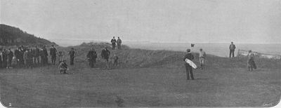Royal Isle of Wight Golf Club, The Duver, St Helen's. Article from The Illustrated Sporting & Dramatic News June 1903.