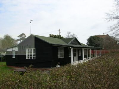 Royal Isle of Wight Golf Club, Bembridge. Later image of the former clubhouse.