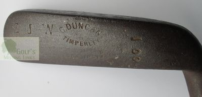 Timperley Golf Club, Cheshire. George Duncan Timperley putter.