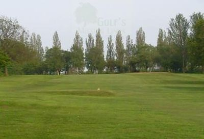 Western Park Golf Club, Leicester. The Eighteenth Hole.
