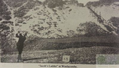 Woolacombe Bay Golf Club, Mortehoe, Devon. Jacob's Ladder.