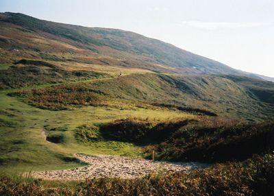 Woolacombe Bay Golf Club, Devon. Site of the former golf course in 2003.