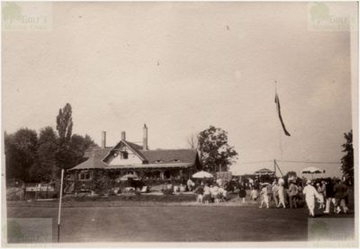 Gaschwitz Golf Club, East Germany. The clubhouse in 1929.