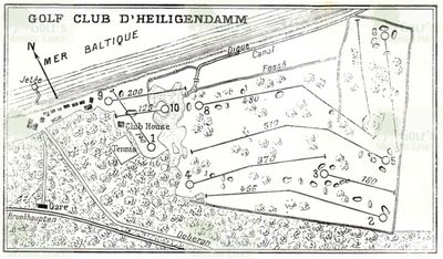 Heiligendamm Golf and Sportclub. Course layout.