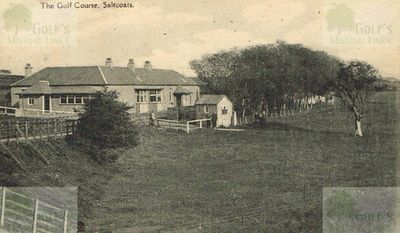 Ardrosssan & Saltcoats Golf Club Clubhouse and course around WW1.