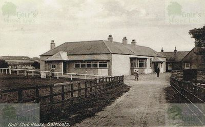 The Ardrossan & Saltcoats Golf Club Clubhouse pre-WW1.