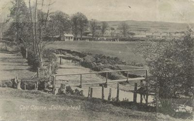 Lochgilphead Golf Club, Argyll & Bute. The course in the early 1920s.