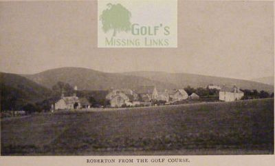 Roberton Golf Club, South Lanarkshire. Roberton from the golf course.