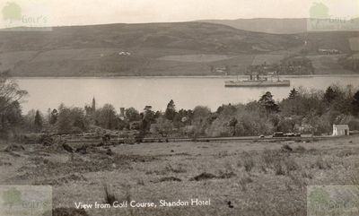 Shandon Golf Club, Argyll & Bute. View from the golf course.
