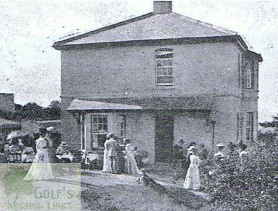 Colwyn Bay Golf Club, Upper Colwyn. Early picture of the clubhouse.
