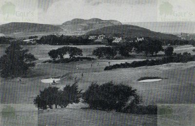 Colwyn Bay Golf Club, The seventh, eighth and second greens.