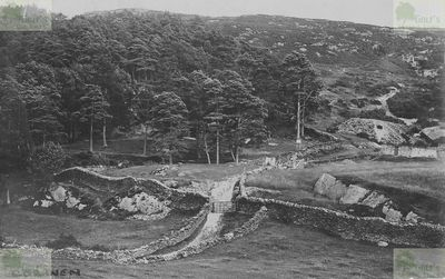Corwen Golf Club, Denbighshire. Before the golf course was laid out